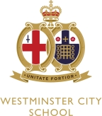 Westminster City School Logo and Link